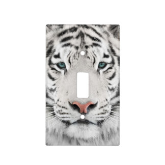 White Tiger Head Light Switch Cover
