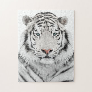 White Tiger Head Puzzle