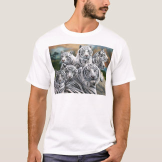 white tiger high res T-Shirt