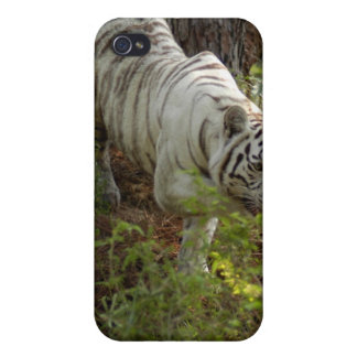 White Tiger i iPhone 4/4S Covers