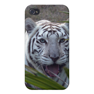 White Tiger i iPhone 4 Cover