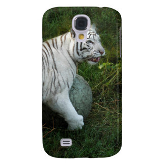 White Tiger i Samsung Galaxy S4 Covers