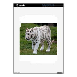 White Tiger iPad 2 Decals