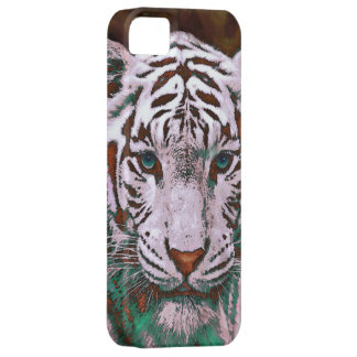 white tiger iphone 5 case