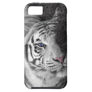 White tiger iPhone 5 cases
