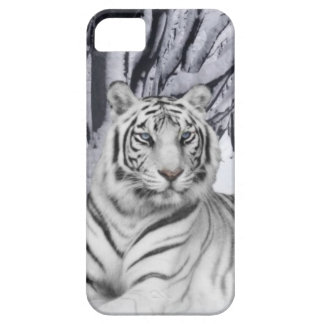White TIger iPhone SE/5/5s Case