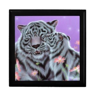 White Tiger Jewelry Box
