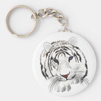 White Tiger Key Chain