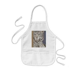 White Tiger Kids' Apron