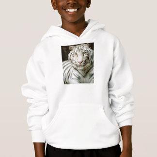 White Tiger Kids Hoodie