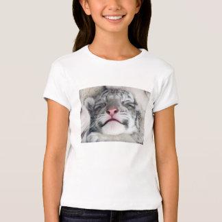 White Tiger Kitten T-Shirt