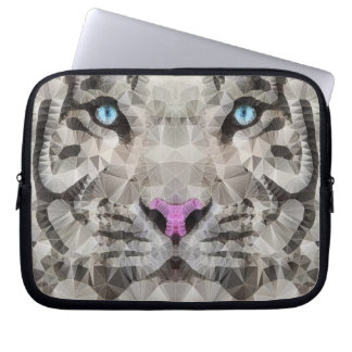 white tiger laptop computer sleeves
