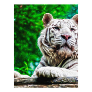 White Tiger Letterhead