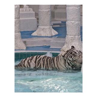 White Tiger Customized Letterhead