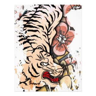 White Tiger Letterhead Template