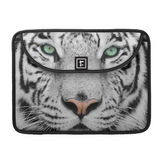 White Tiger Sleeves For MacBook Pro