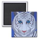White Tiger Magnet!