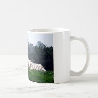 White Tiger Mamma and Cub Coffee Mug