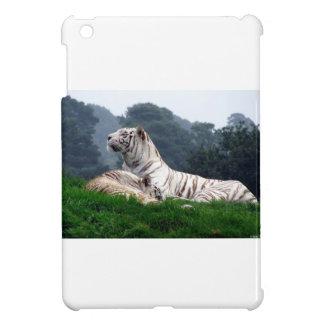 White Tiger Mamma and Cub Cover For The iPad Mini
