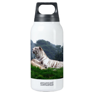 White Tiger Mamma and Cub Insulated Water Bottle