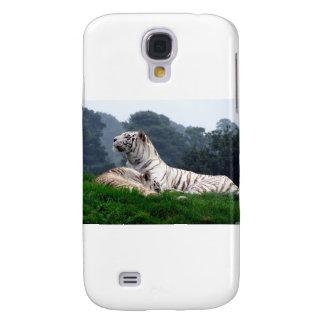 White Tiger Mamma and Cub Samsung S4 Case