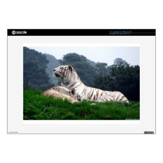 """White Tiger Mamma and Cub Skin For 15"""" Laptop"""