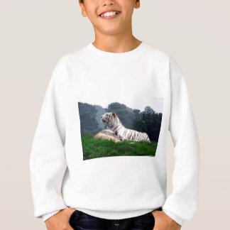 White Tiger Mamma and Cub Sweatshirt