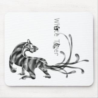White Tiger Mousepads