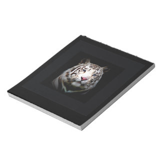 White Tiger Note Pads