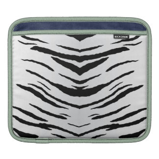 White Tiger or Zebra Striped Sleeve For iPads