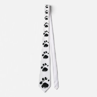 White Tiger Paw Cascaded Tie 2