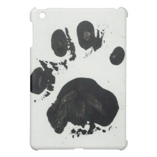 White Tiger Paw Print Cover For The iPad Mini