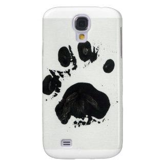 White Tiger Paw Print Galaxy S4 Case