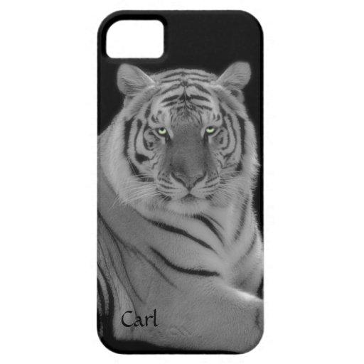 White Tiger Photograph iPhone 5 Phone Case iPhone 5 Cases