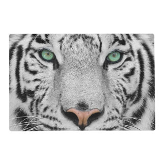White Tiger Placemat
