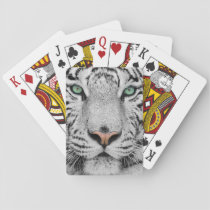 White Tiger Playing Cards