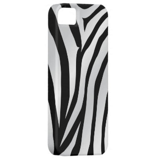 White Tiger Print iPhone 5s Case