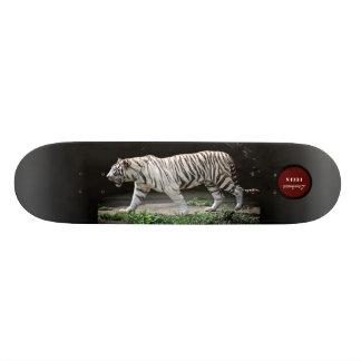 White tiger Skate Deck