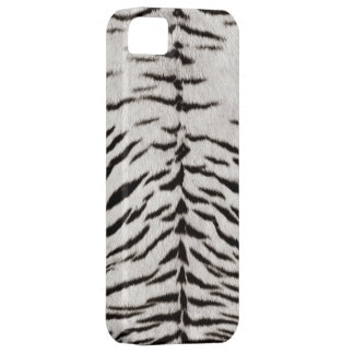 White Tiger Skin Print iPhone5 case iPhone 5 Cases