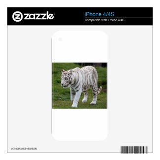 White Tiger Skins For iPhone 4S