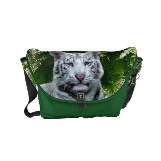 White Tiger Small Messenger Bag