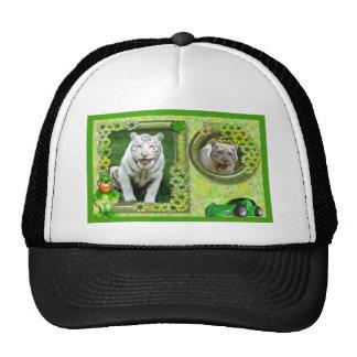 white-tiger-st-patricks-0003-d trucker hat