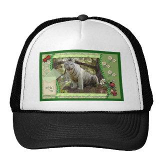 white-tiger-st-patricks-0016 trucker hat