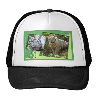 white-tiger-st-patricks-0033 trucker hat