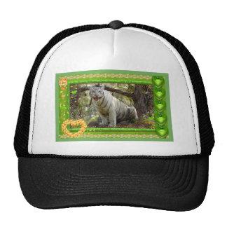 white-tiger-st-patricks-0050 trucker hat