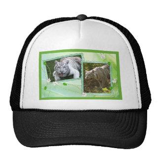 white-tiger-st-patricks-0071 trucker hat