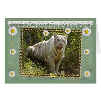 white-tiger-st-patricks-0076 tarjeta de felicitación
