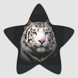 White Tiger Star Sticker