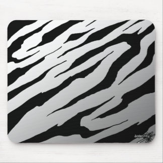 Tiger stripe mouse pads and tiger stripe mousepad designs - Tiger stripes black and white ...