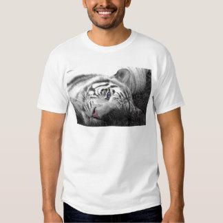 White tiger t shirts
